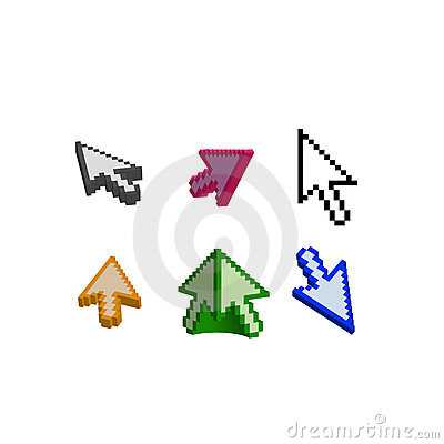 3D and basic cursor arrow