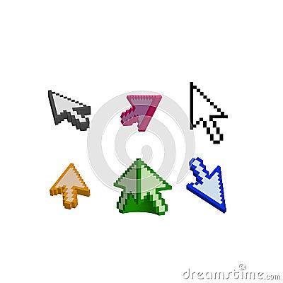 3D and basic cursor arrow
