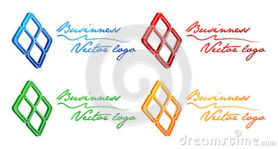 3D blue prosperity logo