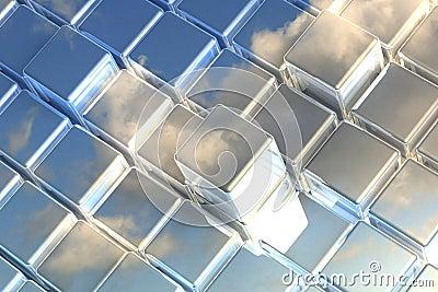 3D blue space