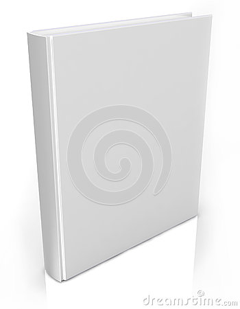 3d book  on white background