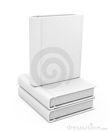Free 3d Book With A Blank Cover Stock Photography - 17467252
