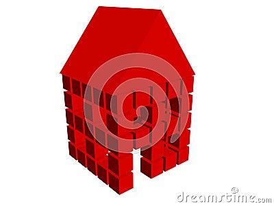 3d box house 09
