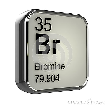 Free 3d Bromine Element Stock Images - 39032834