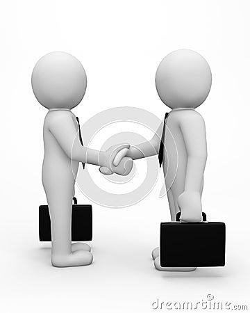 Free 3d Business Men Stock Images - 64381544