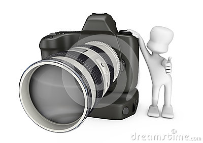 3D camera and photographer