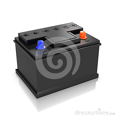 Free 3d Car Battery Royalty Free Stock Images - 41215319