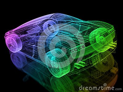 3d car wire