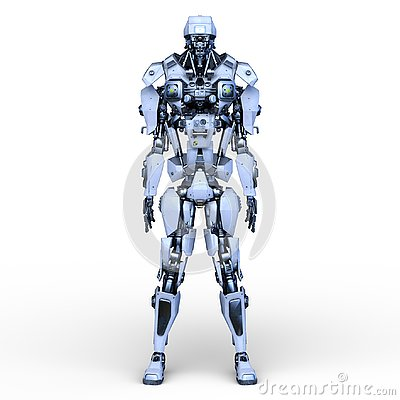 Free 3D CG Rendering Of Robot Royalty Free Stock Photo - 129578015