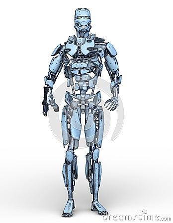 Free 3D CG Rendering Of Robot Royalty Free Stock Photos - 130490658