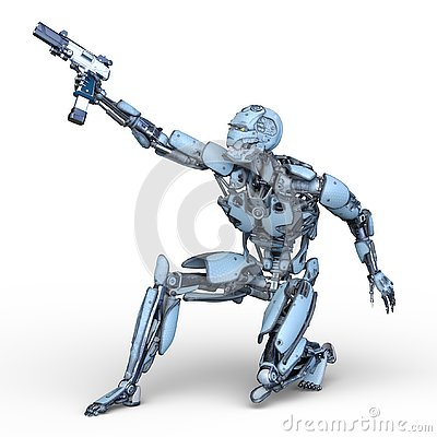 Free 3D CG Rendering Of Robot Royalty Free Stock Photo - 130490665