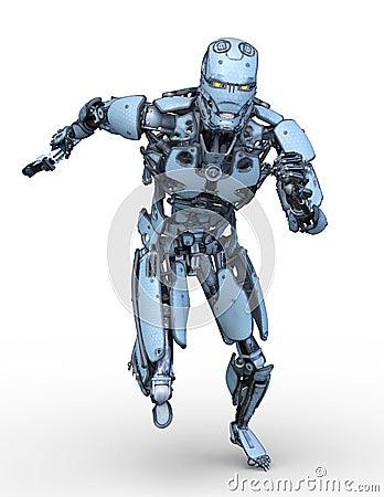 Free 3D CG Rendering Of Robot Stock Photos - 130490673