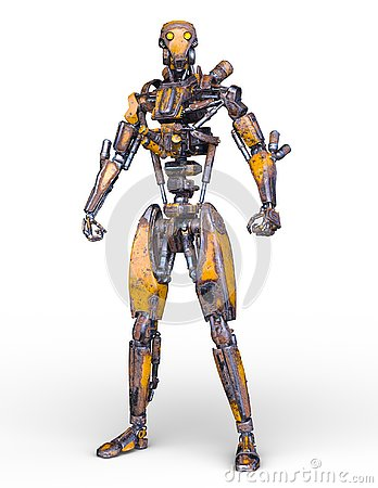 Free 3D CG Rendering Of Robot Royalty Free Stock Image - 130944426