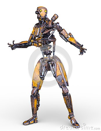 Free 3D CG Rendering Of Robot Royalty Free Stock Photo - 130944485