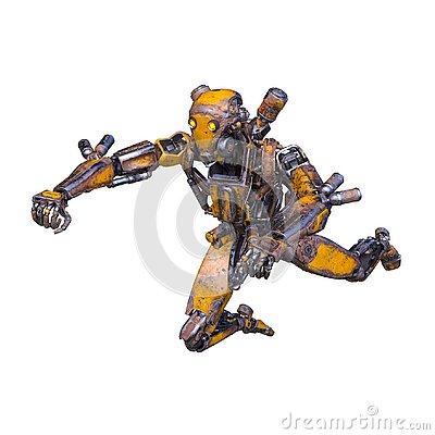 Free 3D CG Rendering Of Robot Royalty Free Stock Images - 130944809