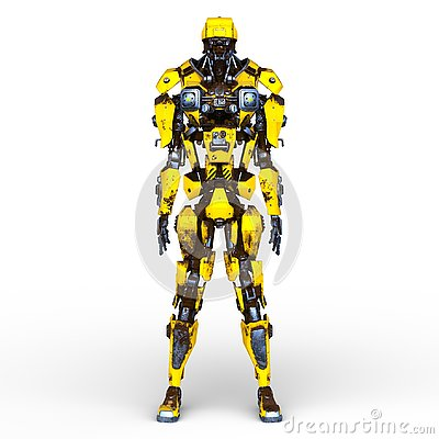 Free 3D CG Rendering Of Robot Royalty Free Stock Photo - 132396305