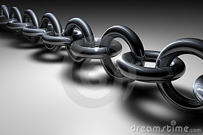 3d Chain Royalty Free Stock Image - Image: 84376