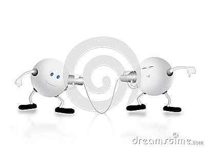 3d charecter & communication