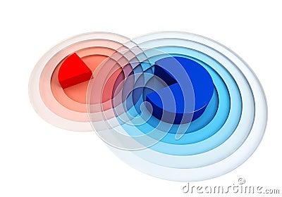 3d chart crossing