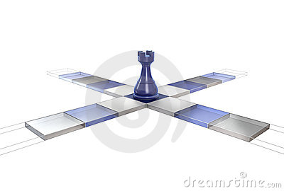3D Chess Strategy Rook