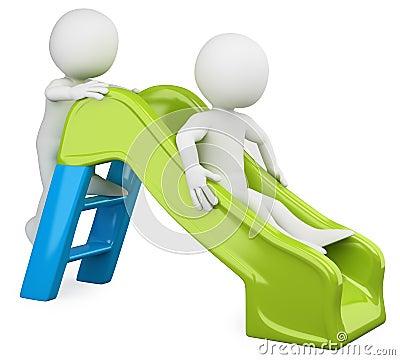 3D children - Slide