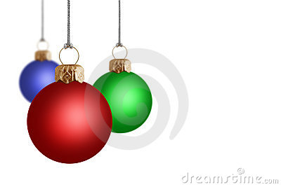 3D Christmas Baubles