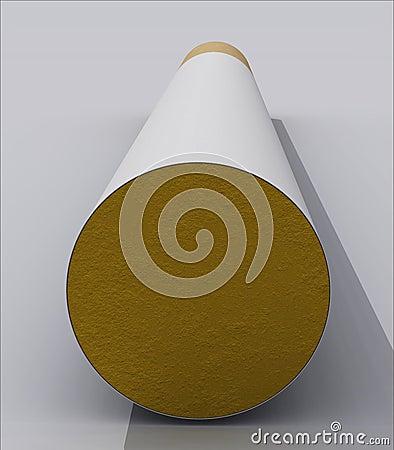 3D cigarette macro