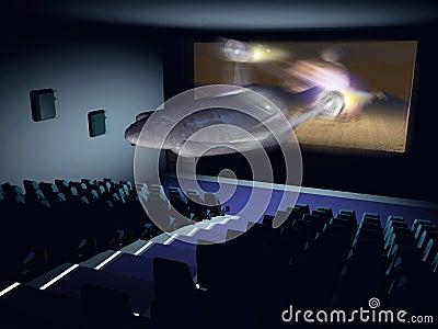 3D cinema