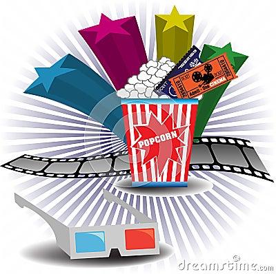 3D cinema theme