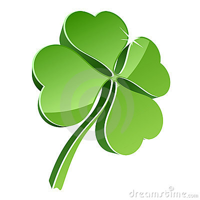 Free 3D Clover Stock Image - 13183091