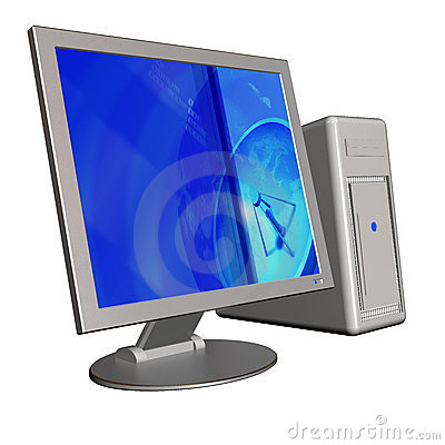 Free 3d Computer Stock Photo - 3053970