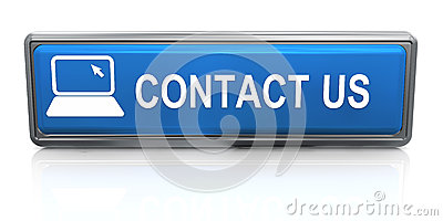 3d contact us button