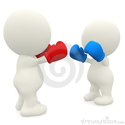 3D couple boxing