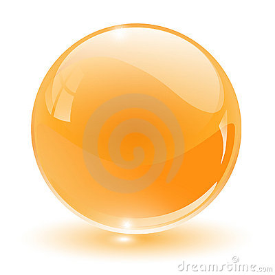 Free 3D Crystal, Glass Sphere Royalty Free Stock Images - 13383779