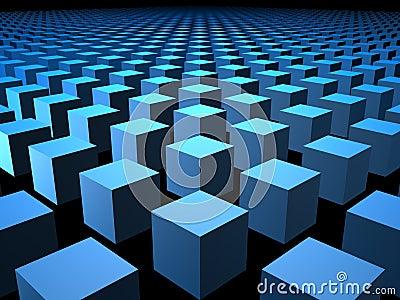 3D Cube Cubes Box Boxes Background