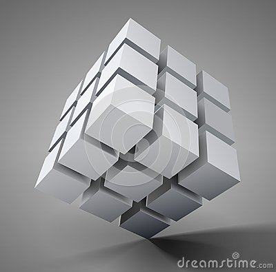 Free 3D Cube Icon Royalty Free Stock Image - 104547226
