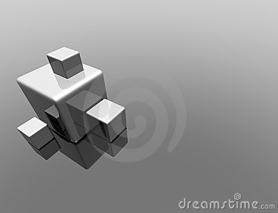 3d cube reflection