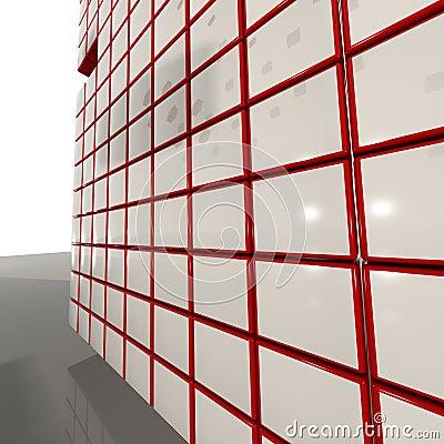 3D'Cubes Grid