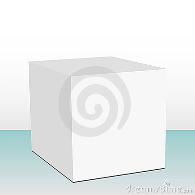 3D cubic box