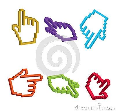 3D Cursor Hand