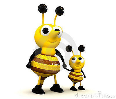 3D Cute Bee