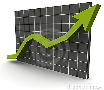 3D Data Graph over a grid