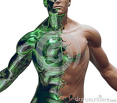 3D Digital Bionic Hybrid