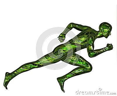 3D Digital Bionic Runner
