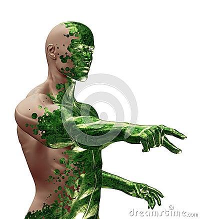 Free 3D Digital Bionic Technology Stock Images - 1355154