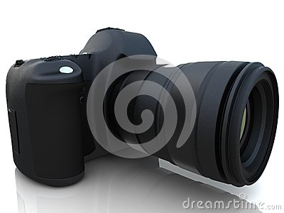 3D digital photo camera