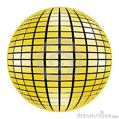 3D Disco Party Mirror Ball Mirrorball