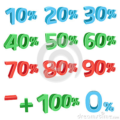 3D discount sums