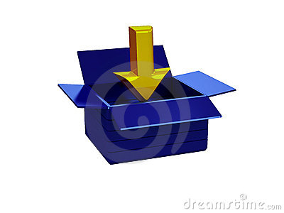 3d Download Glossy Icon Royalty Free Stock Photo - Image: 10933885