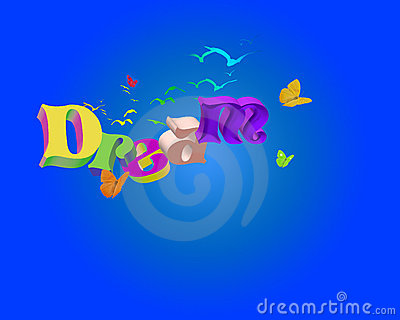 3D Dream Word